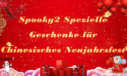 Spooky2 Spezielle Geschenke für Chinesisches Neujahrsfest